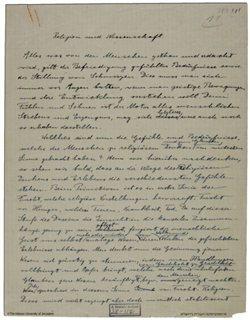 Σε δημοπρασία η επιστολή του Άινσταϊν με τις θρησκευτικές του απόψεις