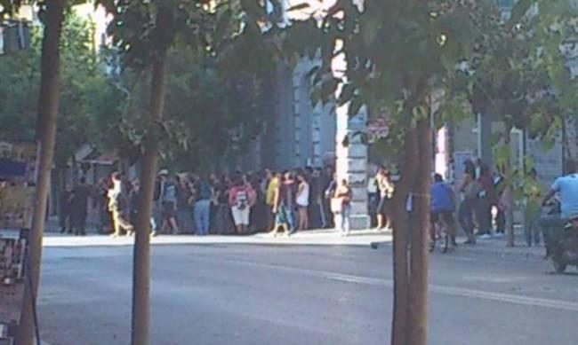 Πάτρα: Συγκέντρωση διαμαρτυρίας αντεξουσιαστών στο Δικαστικό Μέγαρο