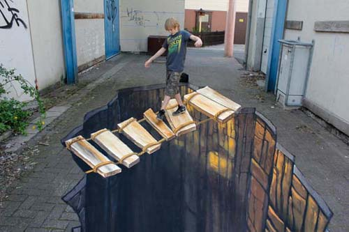 Εκπληκτική 3D τέχνη του δρόμου από τον Nikolaj Arndt