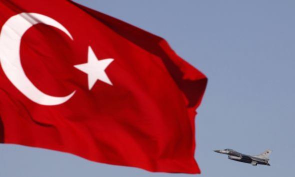 Η Τουρκία έστειλε δύο μαχητικά