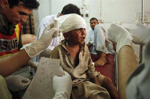 Πολύνεκρη επίθεση αυτοκτονίας σε αγορά του βορειοδυτικού Πακιστάν