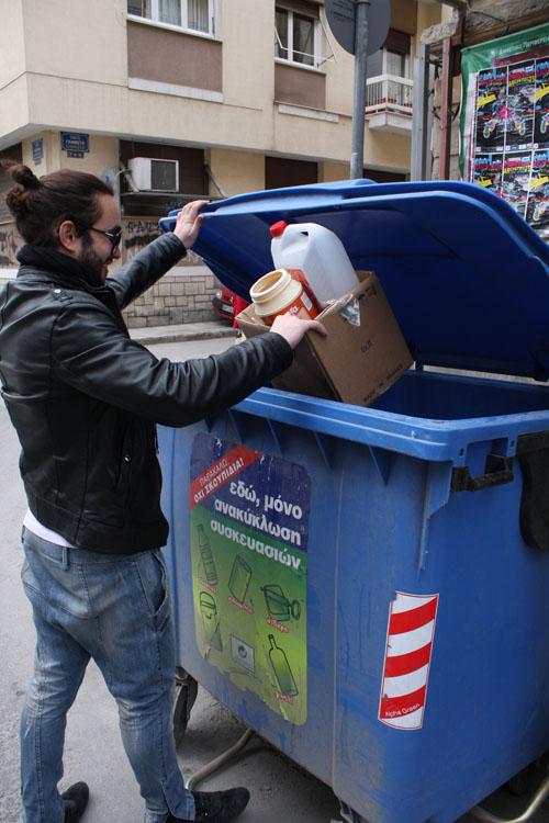 Οι νέοι του Βόλου ανακυκλώνουν