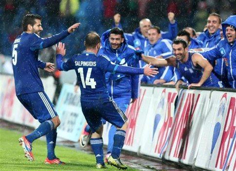 Η Ελλάδα επικράτησε της Σλοβακίας με 1-0