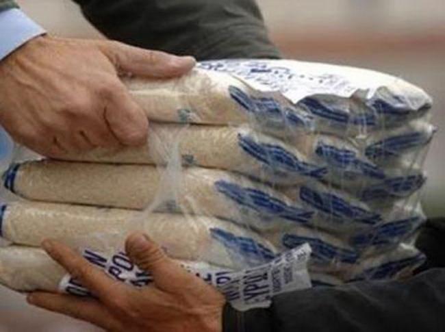 Διανομή τροφίμων  στη Σκιάθο