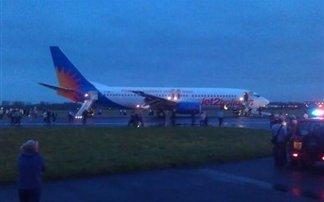 Αναγκαστική εκκένωση αεροπλάνου με τέσσερις τραυματίες στη Σκοτία
