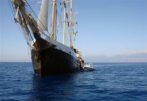 Στο λιμάνι Ασντόντ το Estelle μετά το μπλόκο του ισραηλινού ναυτικού