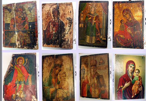 Λάρισα : Επιχείρησαν να πουλήσουν σε αστυνομικό, εκκλησιαστικές εικόνες