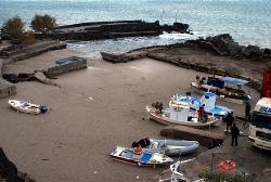 Χαλάζι κατέστρεψε ελαιοπαραγωγή στη Σκόπελο. Ζημιές σε σκάφη και κρηπιδώματα