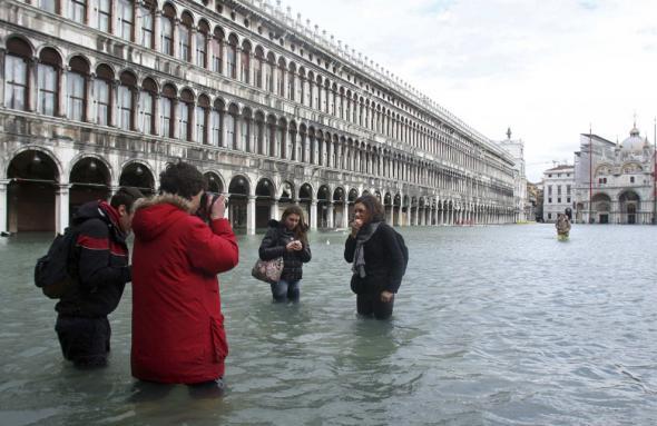 Πλημμύρισε και η... Βενετία