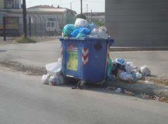 Έκκληση στους πολίτες του Βόλου να μη βγάλουν σκουπίδια στους δρόμους