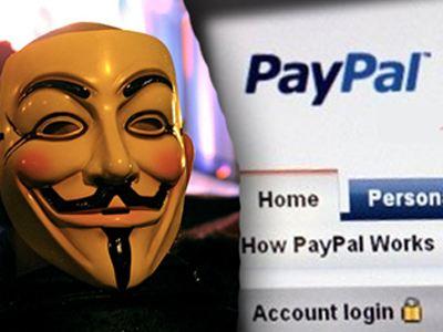 Χάκαραν οι Anonymous το PayPal;