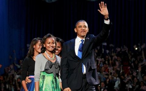 Ξανά πρόεδρος ο Μπαράκ Ομπάμα