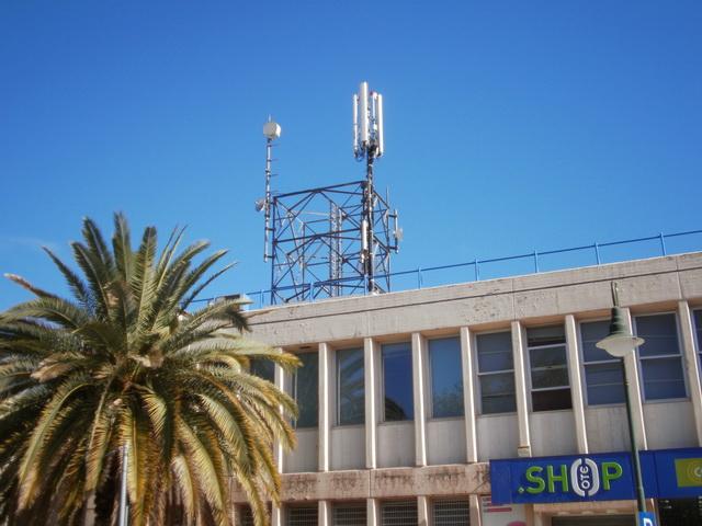 Αποξήλωση κεραίας  κινητής τηλεφωνίας ΟΤΕ
