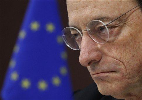 «H μπάλα είναι πλέον στις κυβερνήσεις, όχι στην ΕΚΤ» λέει ο Ντράγκι για την κρίση χρέους