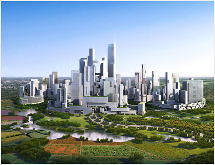 Μια πράσινη «Σπουδαία Πόλη» για την Κίνα