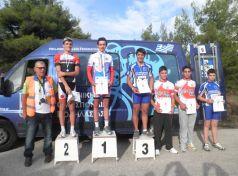 Δύο χρυσά μετάλλια για τον Τρικαλινό ποδηλάτη Νίκο Ζέγκλη