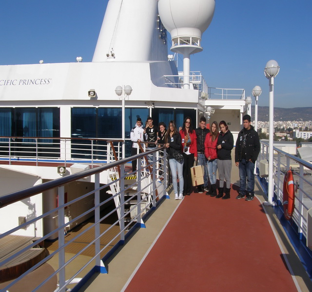 Kατέπλευσε  το   τελευταίο  για το 2012  κρουαζιερόπλοιο