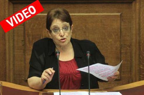 Επίθεση στον ΣΥΡΙΖΑ από την Αλ. Παπαρήγα