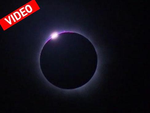 Καρέ-καρέ η ολική έκλειψη ηλίου από το Queensland