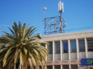 Αποξήλωση κεντρικής  κεραίας κινητής τηλεφωνίας