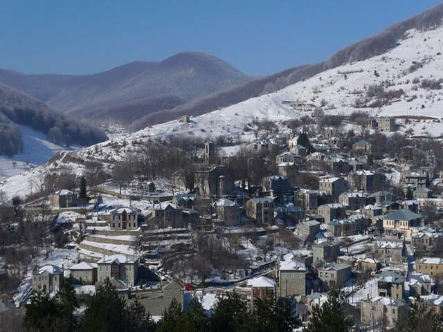 ΝΥΜΦΑΙΟ: Η  «αθέατη» νύμφη του χιονιού και της πέτρας