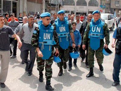 Ο ΟΗΕ αναστέλλει τις επιχειρήσεις του στη Συρία