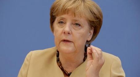 Είμαι επιφυλακτική να κηρύξω το τέλος της κρίσης, λέει στο συνέδριο του CDU η Μέρκελ