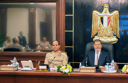 Αίγυπτος: Σε «εθνικό διάλογο» καλεί η ηγεσία του στρατού