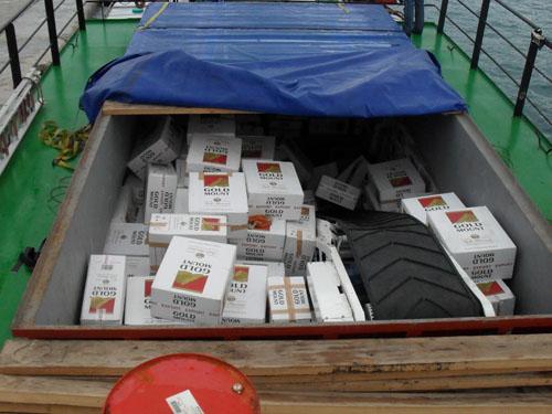 Χανιά: Φορτίο λαθραίων τσιγάρων σε πλοίο με σημαία Μολδαβίας