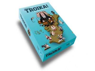 «Προσοχή, έρχεται η Τρόικα!» ... το επιτραπέζιο που κάνει θραύση στην Πορτογαλία...
