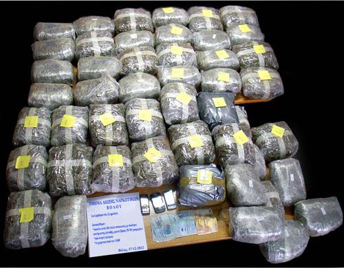 Λάρισα : Εξήγαγαν ναρκωτικά σε χώρες της Βόρειας Ευρώπης