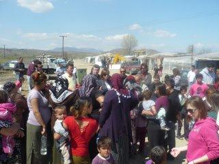 Καρδίτσα: Εκκένωση οικισμού Ρομά λόγω υπερχείλισης ποταμού