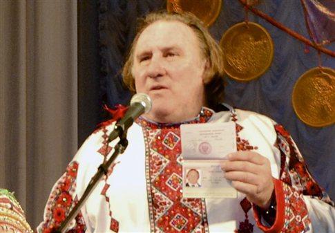 Στο «πετσί» του ρωσικού ρόλου μπήκε για τα καλά ο Ζεράρ Ντεπαρντιέ