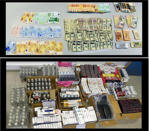 Λάρισα : Συλλήψεις για λαθρεμπόριο τσιγάρων σε υπαίθρια λαϊκή αγορά της πόλης