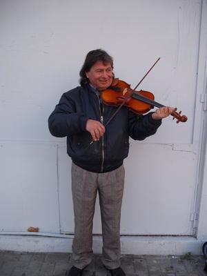 Ο πλανόδιος βιολιστής του Βόλου