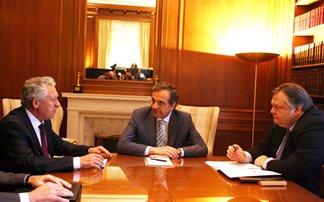 Σύσκεψη των πολιτικών αρχηγών για τρομοκρατία και λίστα