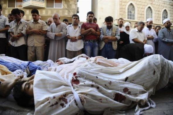 Συρία-106 πολίτες νεκροί από έφοδο
