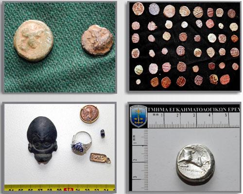 Συνελήφθη στη Λάρισα, 58χρονος αρχαιοκάπηλος