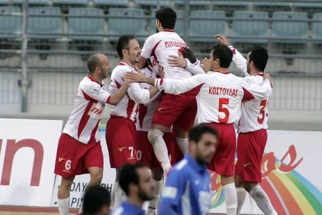 Ολυμπιακός Βόλου - Απόλλωνα Σμύρνης 3-0