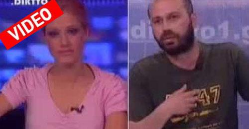 Και με... καλάσνικοφ στο μπλουζάκι ο Β. Διαμαντόπουλος