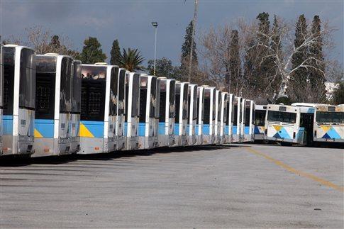 Στις κάλπες οι οδηγοί λεωφορείων για το μέλλον των κινητοποιήσεων