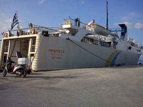 Και δεύτερο πλοίο στη γραμμή των Σποράδων