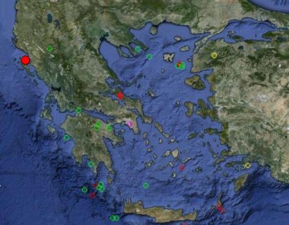 Σεισμός 4,3 Ρίχτερ στην Κέρκυρα