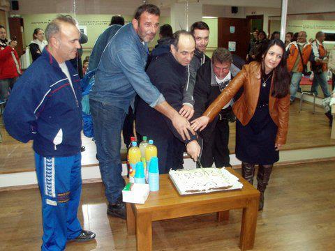 Κοπή πίτας στους συλλόγους Καράτε Αγριάς και Αρμενίου