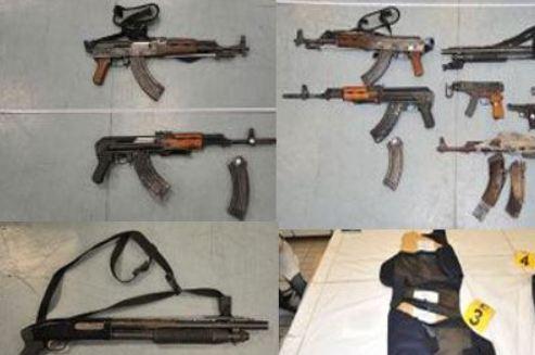 Στη δημοσιότητα τα όπλα της διπλής ληστείας στο Βελβεντό