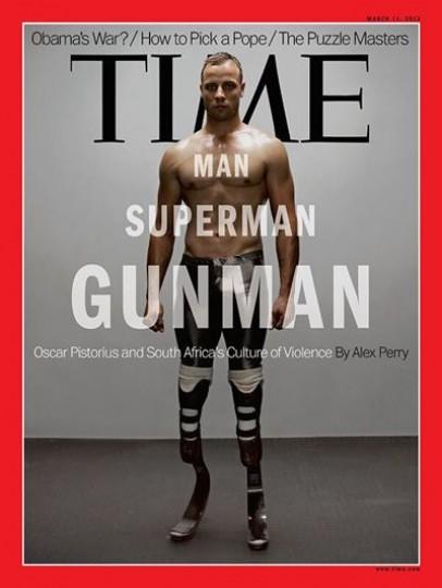 Στο εξώφυλλο του TIME ο Πιστόριους