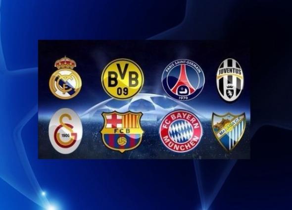 ΤΏΡΑ-Τα ζευγάρια του Champions League