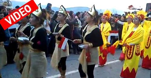 Στιγμιότυπα από την παρέλαση στο Καρναβάλι του Βόλου