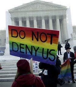 Ενώπιον του Ανωτάτου Δικαστηρίου των ΗΠΑ οι γάμοι ομοφυλόφιλων