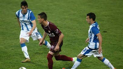 Λάρισα -  Νίκη Βόλου 1 - 1